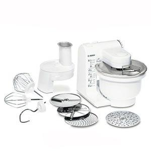 Bosch MUM4427 Küchenmaschine MUM4 (500 Watt, 3,9 Liter) weiß - 1